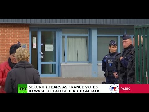 France voting for new president in 1st round of election