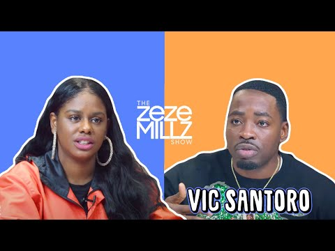 "THE ZEZE MILLZ SHOW: FT VIC - ""Can't Nobody Interview This Guy Without Saying My Name?"""