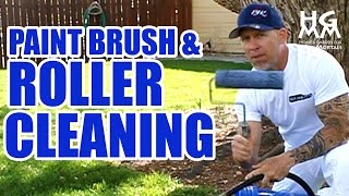 How Clean Paint Brushes And Rollers Quick And Effective Way