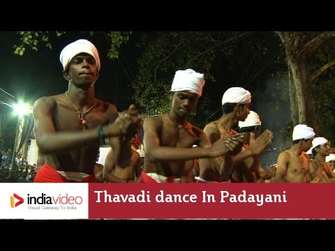 The rhythmic movements of Thavadi dance in Padayani