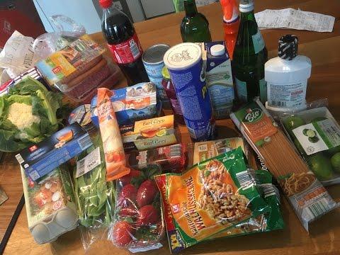 Almanya Market Alisverisi