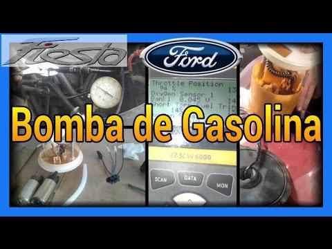 Bomba De Gasolina Ford Fiesta Youtube