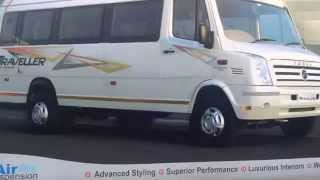 Force Motors Traveller 26 Super Luxury at Bus & Special Vehicle Show