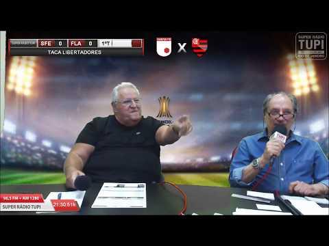 Santa Fe 0 X 0 Flamengo - 4ª Rodada - Libertadores - 25/04/2018 - AO VIVO