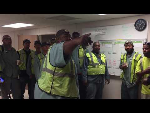 "The Mighty Victoria Hauling District Driver Huddle - ""Minutes Matter, Lives Matter"""
