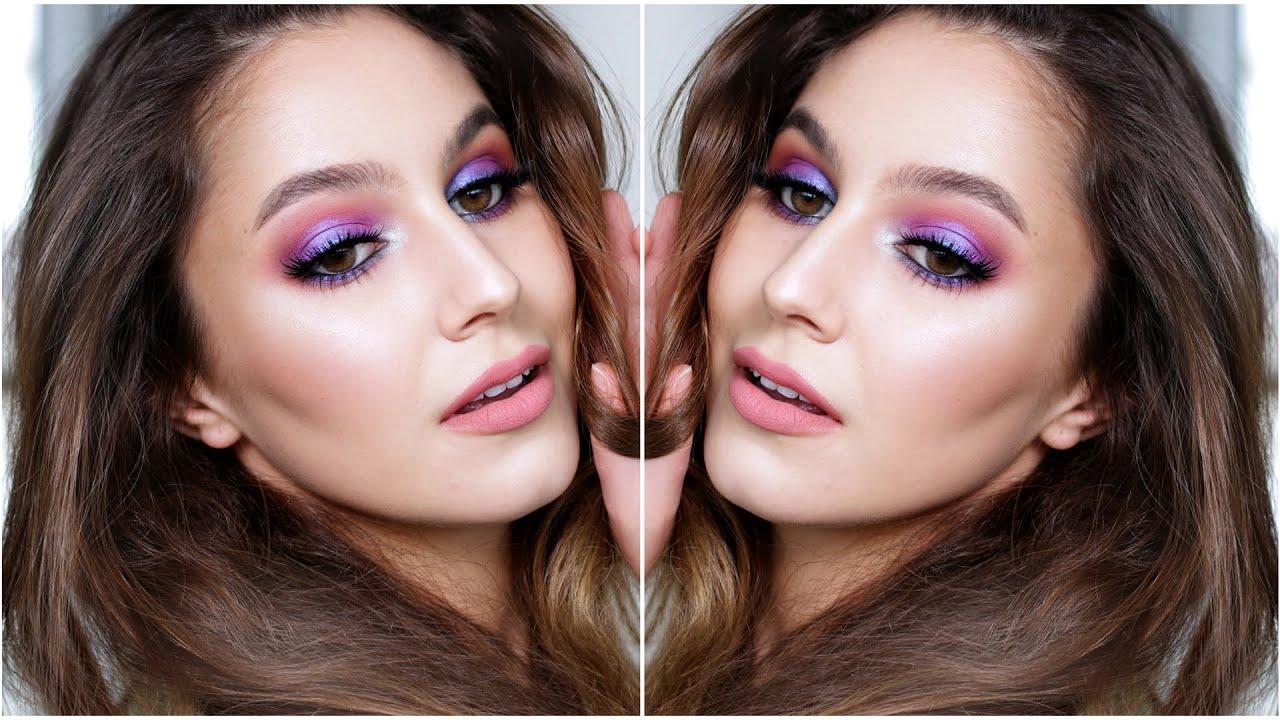 Ultraviolet Summer Makeup Tutorial Youtube Jill Beauty Lip Matte 13 Purplish Plum