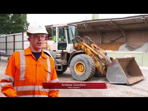 Aggregate Industries Express Asphalt Darwen Aggregate overflow cutoff device