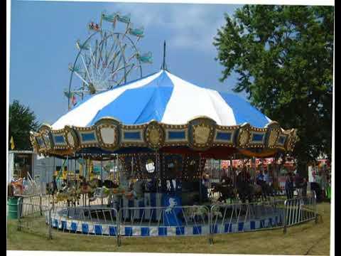 Coles County Fair Carousel - YouTube