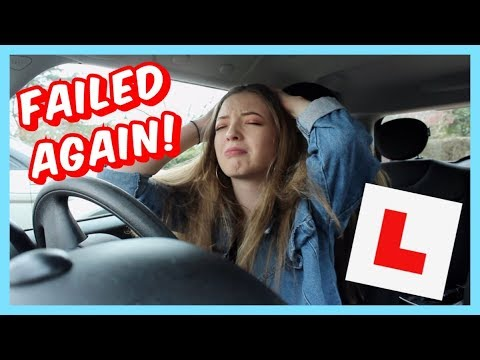 i failed my drivers test