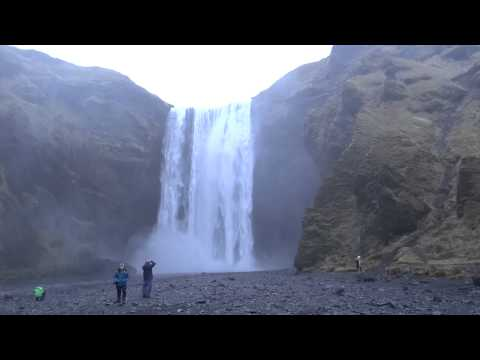 Iceland - Skógafoss Waterfall HD (2014)