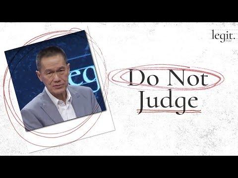 Legit - Do Not Judge - Peter Tanchi