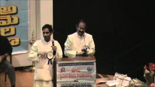 Janta Kavulu- 3rd Internation Telugu Literary Conference Houston TX March 10th 2012.wmv