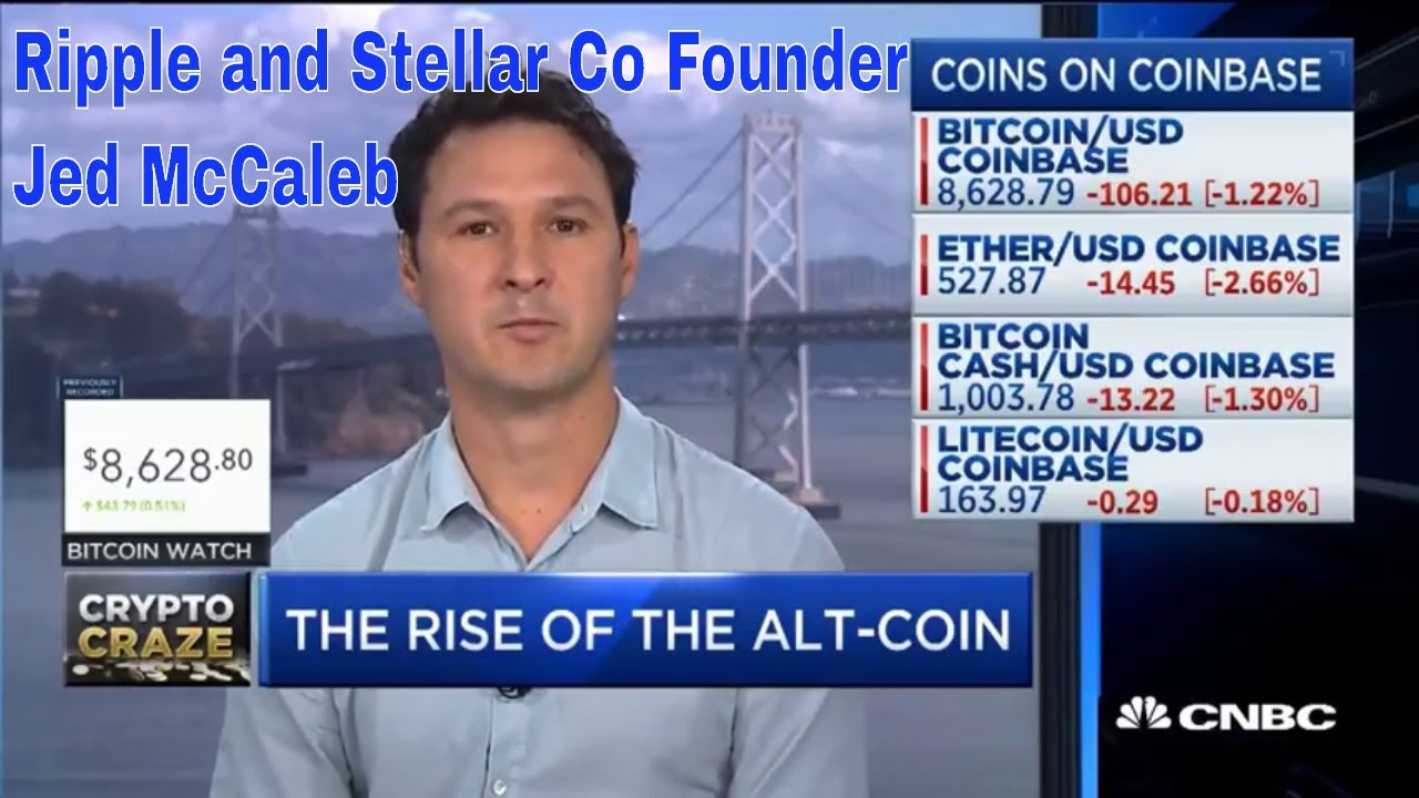 CNBC Fast money with Ripple and Stellar Co Founder Jed McCaleb - Binance moving to Malta ?