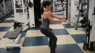 Exercise First  Standing Single Arm Cable Row