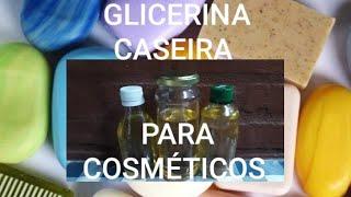 GLICERINA CASEIRA PARA SABONETE E SHAMPOO