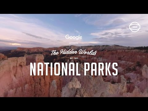 Explore the Hidden Worlds of the National Parks in 360°