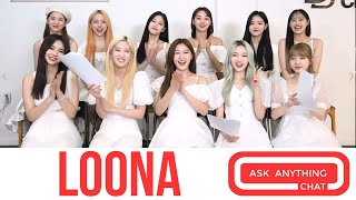 Loona ROLL CALL.  Time To Meet The Ladies