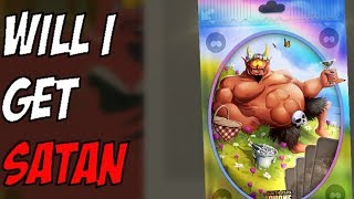 Satan Pack Opening! Will I get him?!