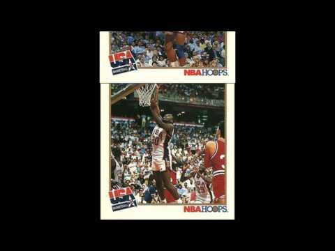 1991-92 NBA Hoops USA Basketball Cards 32 Card Checklist