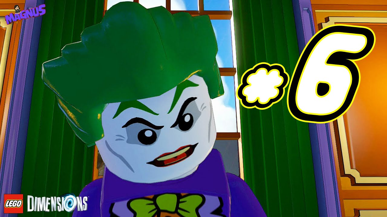lego dimensions gameplay ita 6 joker tempo di affari. Black Bedroom Furniture Sets. Home Design Ideas