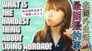 【海外生活の悩み】オーストラリア1年&台湾3年のここ4年間で私が一番困っていること(What's the hardest thing about living abroad?)