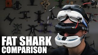 Fat Shark FPV Goggle Comparison | Flite Test