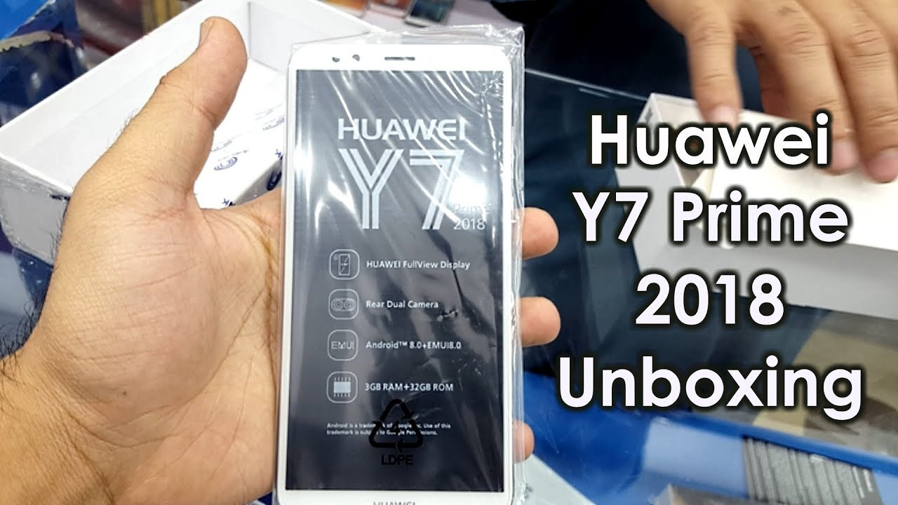 Huawei Y7 Prime 2018 Unboxing, First Look & Short Review! Urdu/Hindi