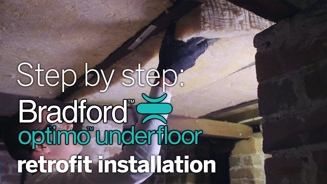 Step by step diy install of optimo underfloor insulation in an step by step diy install of optimo underfloor insulation in an existing home solutioingenieria Choice Image
