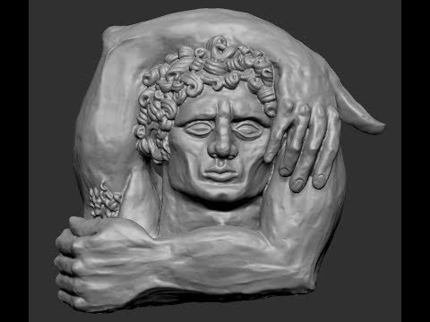 Digitalización y reproducción 3D de escultura Hércules de Albert Madaula