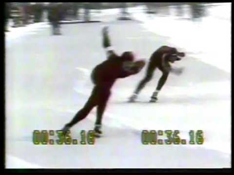 US Speed Skater Eric Heiden At 1979 World Championships Via Satellite From Germany   imasportsphile