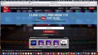 iMovie for Mac- Finding Copyright Free Music (FreeplayMusic)
