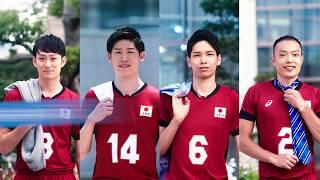 「バレーボール日本代表選手が街中でボールに遭遇するとこうなる」篇 thumbnail