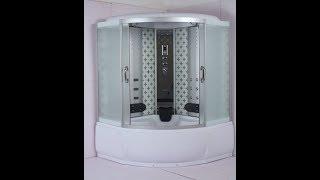 Душевая кабина с ванной River Temza 150/150/55