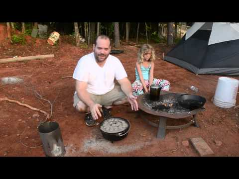 How NOT To Use A Camp Dutch Oven (FAIL)