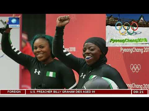 Nigeria's Bobsleigh Women Savour Olympic Moment |Sports This Morning|