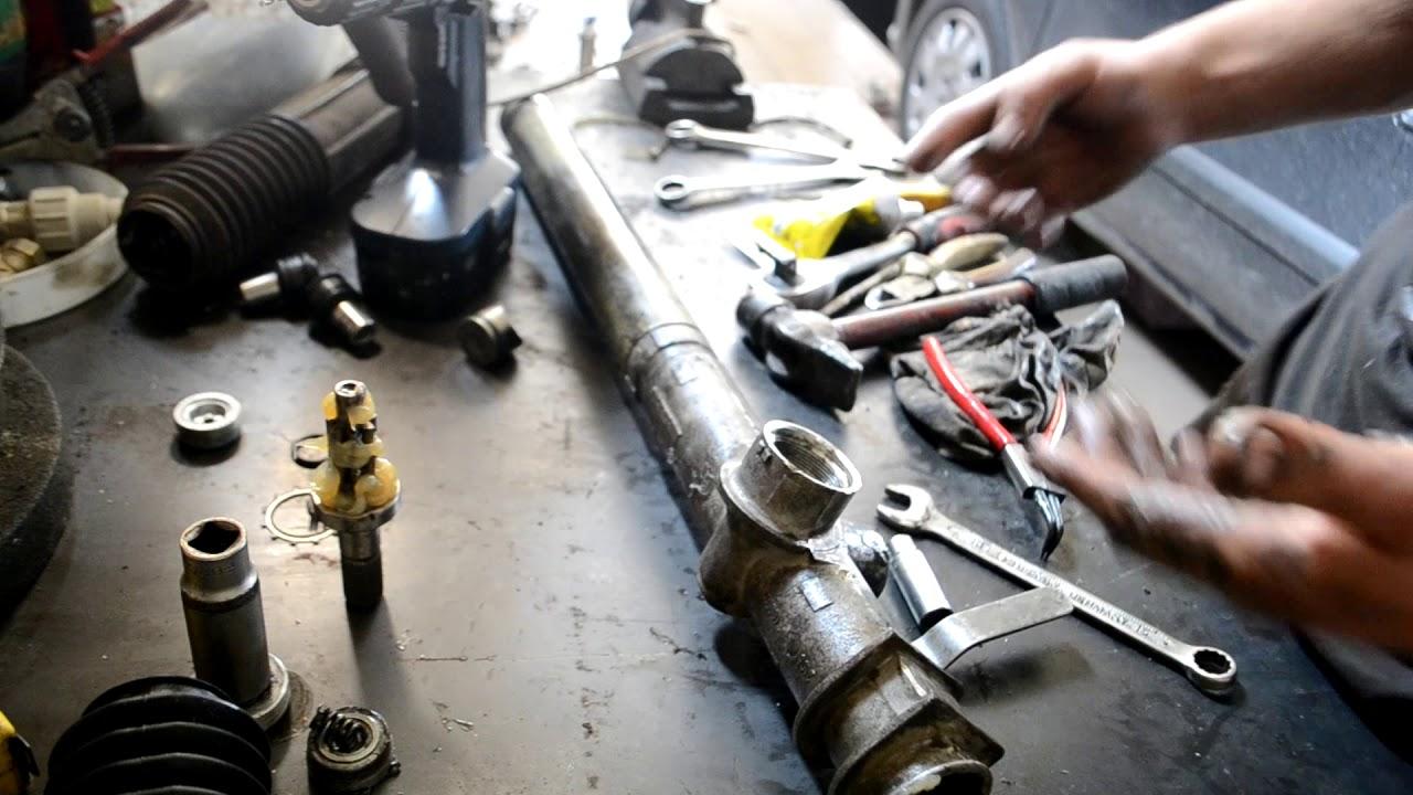 Ремонт рулевой рейки ВАЗ 2108, 2109, 2113, 2114, 2115 2