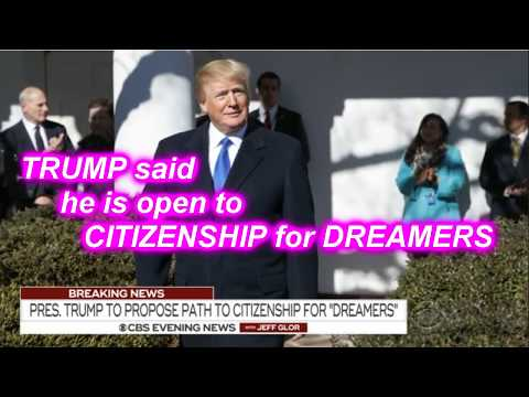 AMNESTY DON wants CITIZENSHIP for 3.6 Million DREAMERS