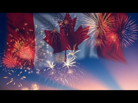 CANADA DAY FIREWORKS 2020 | CANADA DAY CELEBRATIONS | MILLENNIAL MOMMY