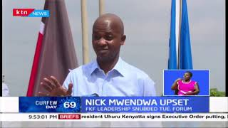 Nick Mwendwa upset: Nick Mwendwa unleashes rage on Ohanga accusing him of overstepping