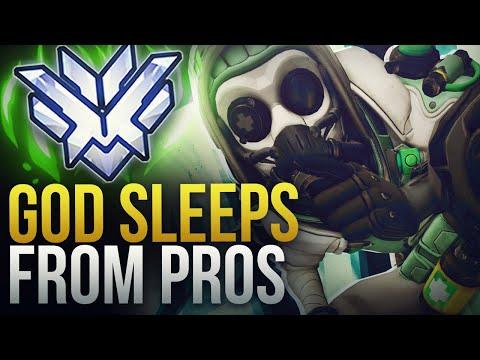 WHEN PROS HIT SLEEP DARTS JUST RIGHT - Overwatch Montage
