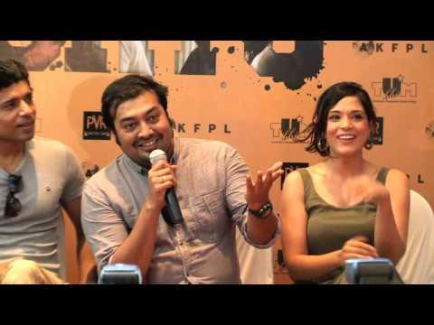 Anurag Kashyap | LC Singh | Nawazuddin Siddiqui | Huma Qureshi | Richa Chadda promoting S.H.O.R.T.S