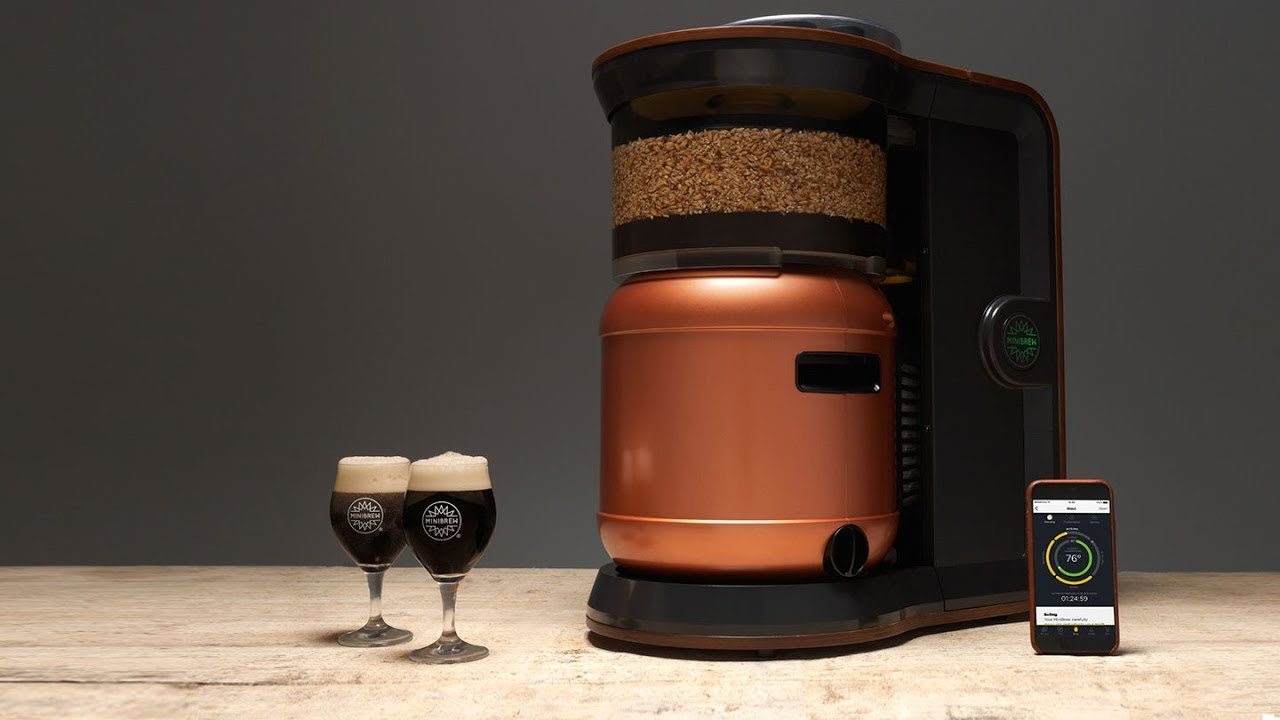 MiniBrew | Learn more about the fully automatic brewing