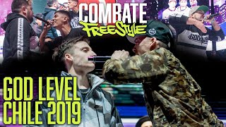 GOD LEVEL CHILE - TODO LO QUE NO VISTE - COMBATE FREESTYLE
