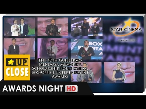 The 47th Guillermo Mendoza Memorial Scholarship Foundation Box-Office Entertainment Awards | Part 2