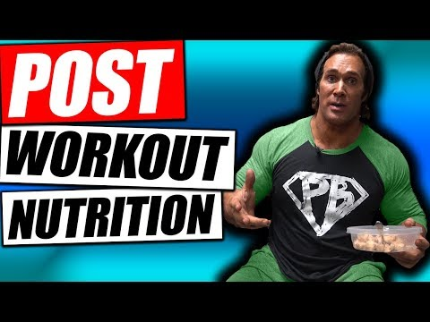 Mike O'Hearn Post Workout Nutrition for Strength & Recovery