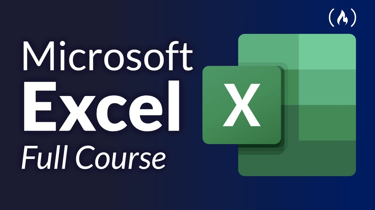 Download Microsoft Excel Tutorial for Beginners - Full Course