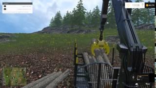 Kiliposen Työmaa (farming Simulator 2015 Ponsse Timber Harvesting)