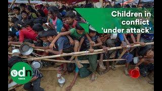 Children in conflict 'under attack'