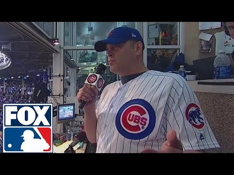 Vince Vaughn sings Take Me Out to the Ballgame at Wrigley Field  2016 WORLD SERIES ON FOX
