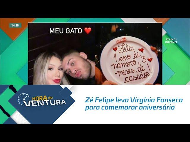 Zé Felipe leva Virgínia Fonseca para comemorar aniversário de casamento em motel